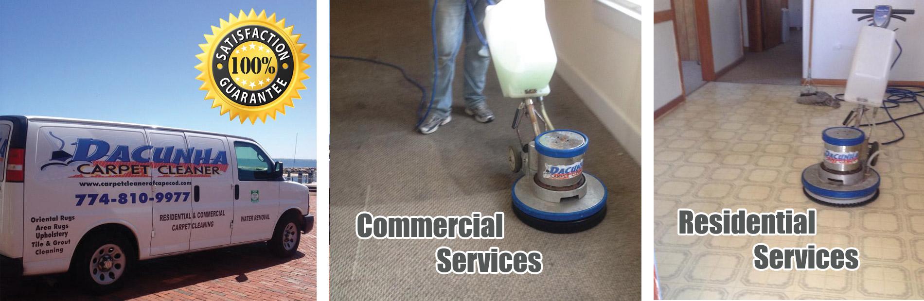 Carpet Cleaner in Cape Cod - Carpet